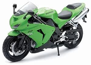 New Ray 1/12 Die-Cast Motorcycle: Kawasaki 2006 ZX-10R Ninja ...