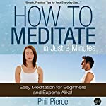 How to Meditate in Just 2 Minutes: Easy Meditation for Beginners and Experts Alike! | Phil Pierce