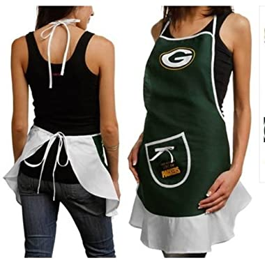 Green Bay Packers Nfl Hostess Apron