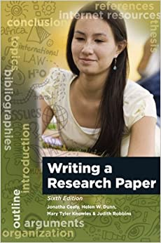 Book Writing A Research Paper
