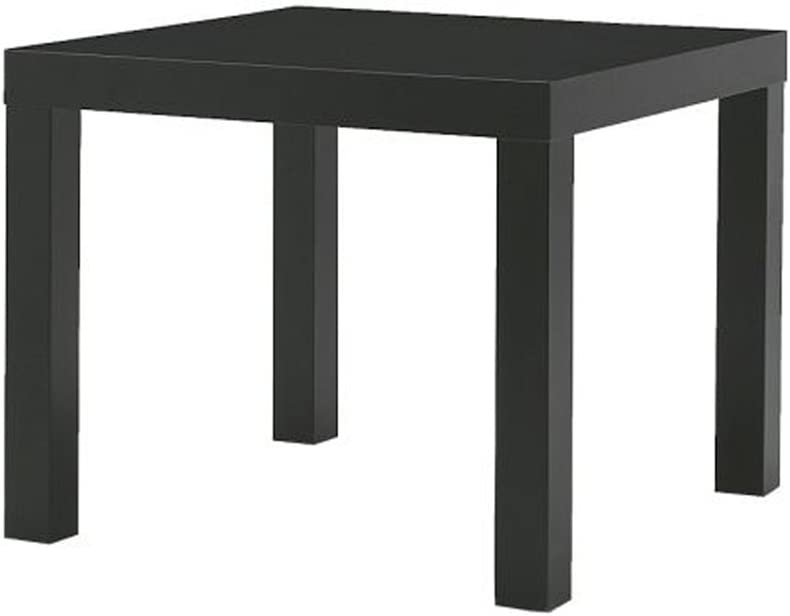IKEA Home Living Room Decor Lack Side Table, Black