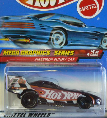 Pro Rodz Series - Mattel Hot Wheels 1999 1:64 Scale Mega Graphics Series Firebird Funny Car Die Cast Car 4/4