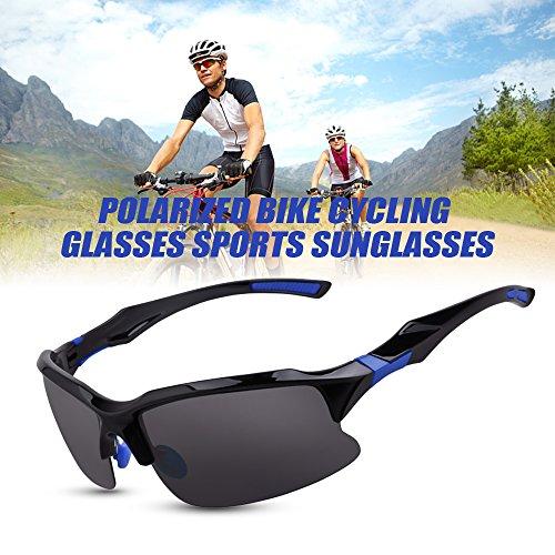 6351fba49a De alta calidad Lixada Gafas de Bicicleta Deportes Lentes de Sol Lente  Polarizada UV para Pesca