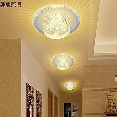 LED de luz de cristal PASILLO pasillo de entrada balcón sala ...