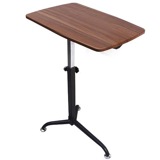 JiaQi Overbed Table,médico Ajustable Portátil Escritorio Portátil ...