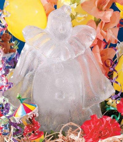 (Reusable Clown Ice Sculpture Mold)