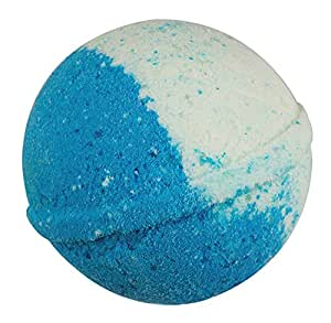 Sense Sation Bergamot Bath Bomb USA Handmade Ultra Lush Spa Bath Fizzies 4.5 oz. Organic Essential Oil, Fizzy & Colorful, Aromatherapy & Moisturizing, Vegan & Gluten Free Gift Idea