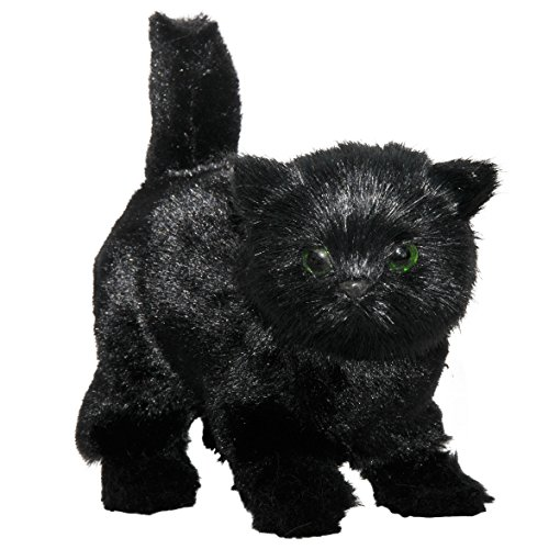 The Queen's Treasures AWSOM Pets! Black Kitty Cat is The Perfect Furry Companion Doll Toy. Fits American Girl Doll and Other 18 inch Dolls!