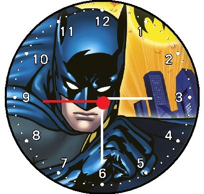Batman Wall Decor Clock