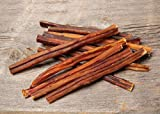 Truly Ugly! 8 Inch-Thin Bully Sticks (12 Pack) with a Hint of Hickory