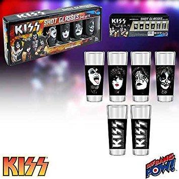 Kiss Starchild Glasses - KISS Shot Glasses Set of