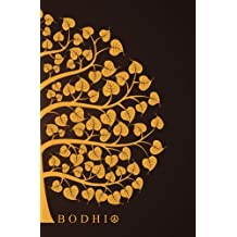Bodhi: 150-page Journal With the Symbolic Image of a Bodhi Tree From India (Black / 5.25 x 8 Inches)