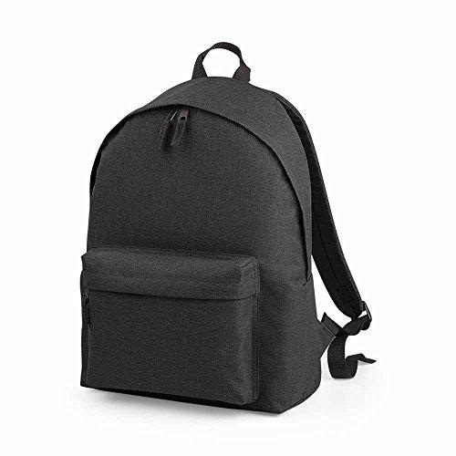 BagBase Two Tone Fashion Backpack BG126 Anthracite