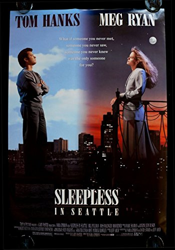 14inch x 20inch//35cm x 50cm Silk Print Poster Silk Printing Infinite Arts Sleepless in Seattle F2B15A