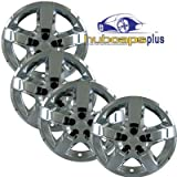 Set of Four 2008, 2009, 2010 Chevrolet Malibu Style 17 inch Chrome Bolt on Hubcaps Wheel Covers by Hubcaps Plus