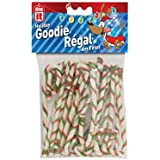 Dogit DO Holiday Beefhide Dog Snack Shaped as Candy Canes 7 inch - 20 Pack