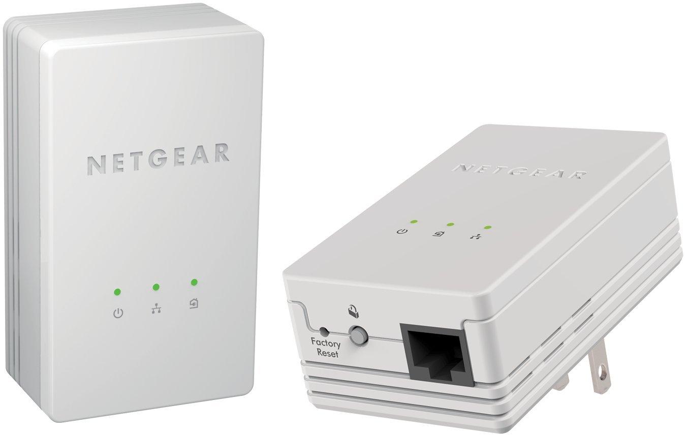 Netgear Powerline 200mbps Mini Adapter Starter Kit Home Wiring Internet Xavb1301 Computers Accessories