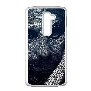 LG G2 Cell Phone Case White_Steve Jobs Word Art Bqefb
