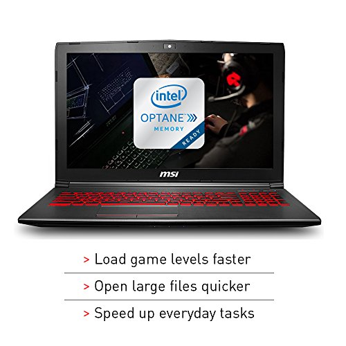 15.6-inch MSI GV62 8rd-200 Full HD Gaming Laptop with  Intel 6 Core i5-8300H