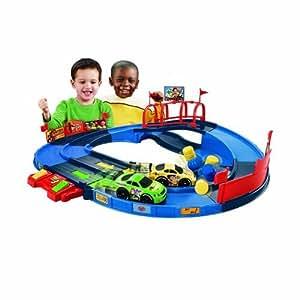 Amazon Com Fisher Price Toy Story 3 Shake N Go Speedway