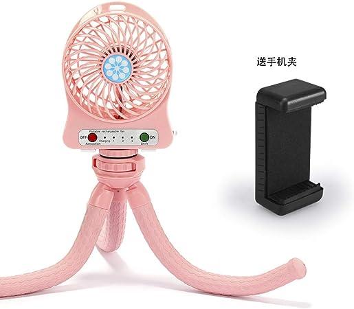 Jenny.Ben USB Pulpo Ventilador Soporte para teléfono móvil ...