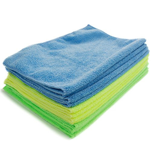 Zwipes 735 Microfiber Towel Cleaning Cloths, 12-Pack]()