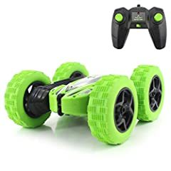 Fisca remote control stunt car is a very cool car, it has high speed. And forward, back, left turn, right turn is very fast, quickly overcomes all obstacles. It will give lots of fun to your child.Specification: Material: Plastic, rubber Prod...