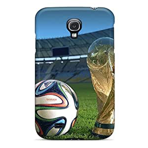 Hot Tpye World Cup 2014 Case Cover For Galaxy S4