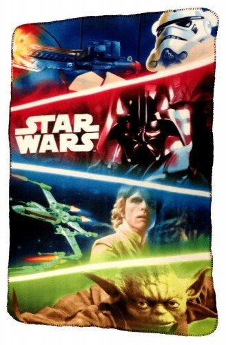 Star Wars - Couverture plaid polaire 100x150cm