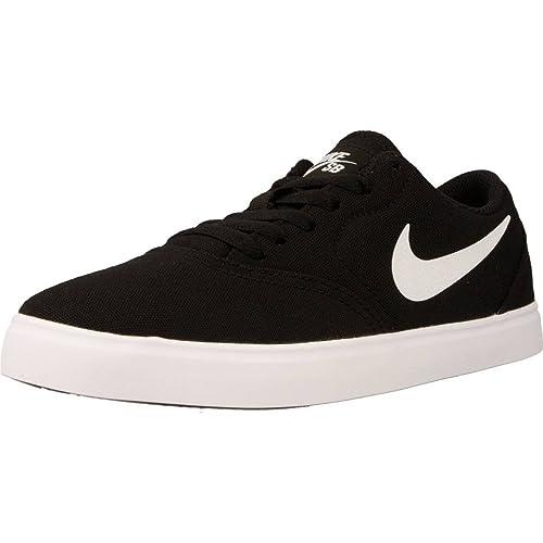 Calzado deportivo para mujer, color Negro , marca NIKE, modelo Calzado Deportivo Para Mujer NIKE NIKE SB CHECK CNVS (GS) Negro: Amazon.es: Zapatos y ...