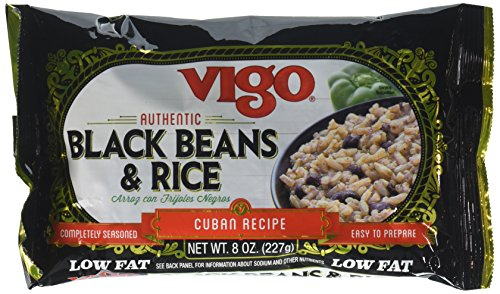 - Vigo Rice Mix and Black Bean, 8oz (Pack of 4)