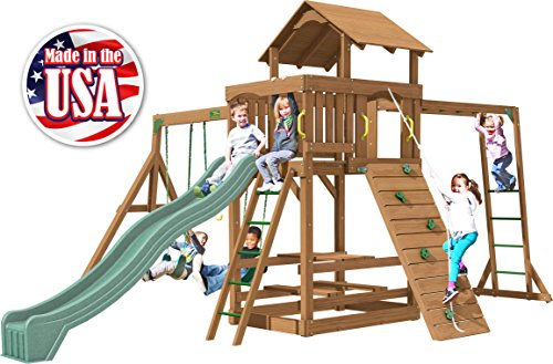 Creative Playthings (Playtime Series) Charlotte Swing Set Made in The ()
