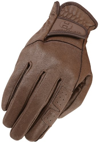 Heritage GPX Show Gloves, Size 9, Chocolate - Heritage Competition Gloves