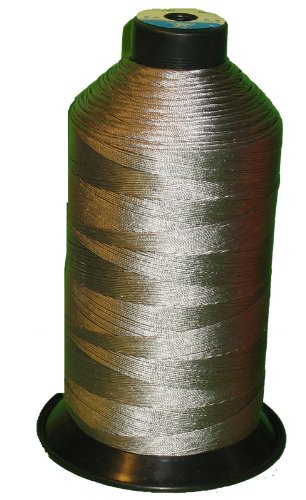 Item4ever® Grey Gray Bonded Nylon Sewing Thread T210 #207 1000 Yard for Outdoor, Leather, Upholstery