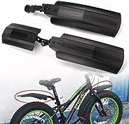 1 Pcs Bike Mud Guard Fat Tire Bike Mountain 26 Inch Bike Tire Snow Bicycle Bike Front Rear Mudguard Cycling Bi