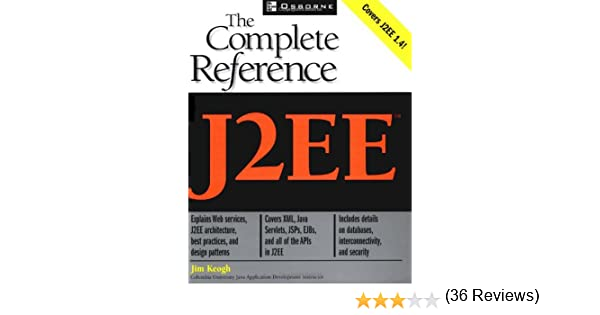 j2ee the complete reference by james keogh free ebook