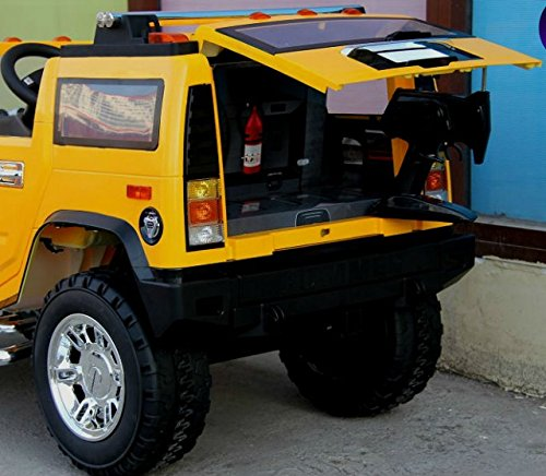 LICENSED HUMMER RIDE ON TOY CAR REMOTE CONTROL 12 VOLTS POWER WHEELS