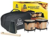 Latin Percussion Aspire Bongo Kit, Natural