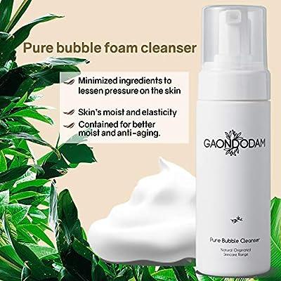 Amazon Com Pure Bubble Foam Facial Cleanser Clear Pores Sebum
