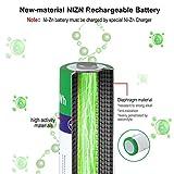 melasta 16 Count NiZn AA Rechargeable Batteries