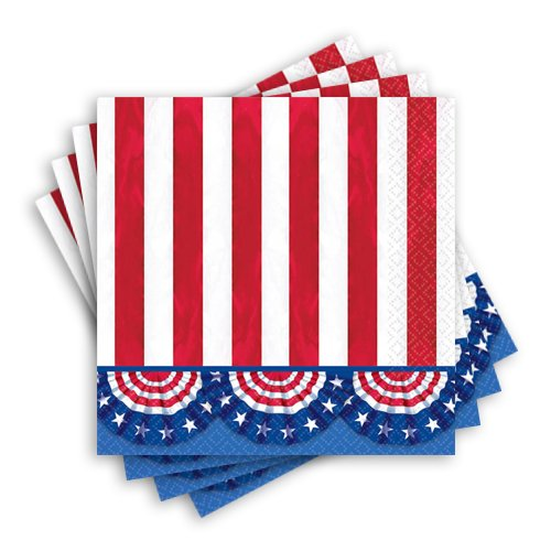 American Pride Party Luncheon Napkins, 125 Ct.