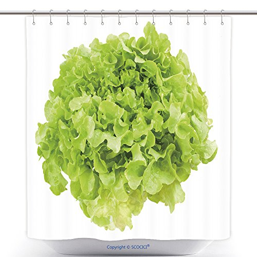 vanfan-Durable Shower Curtains Green Oak Lettuce On White Background Polyester Bathroom Shower Curtain Set With Hooks(70 x 78 - Thousand Oaks Nordstrom