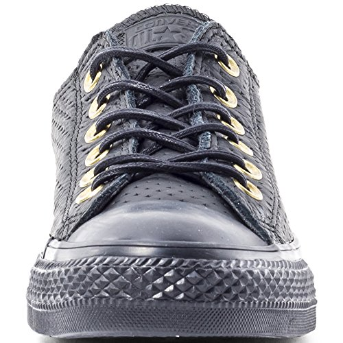 Black Star Chuck Taylor Ox Adulto All Unisex Converse Zapatillas AqzTgT