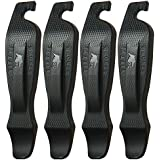 50 Strong Bike Tire Lever - Set of 4 Easy Grip Bicycle Levers - Best Tire Changing Tool - Made in USA and Designed to Snap Together for Storage
