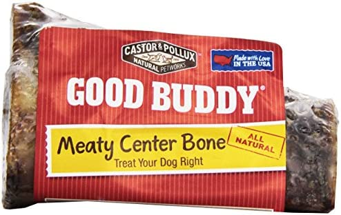 Castor Pollux Meaty Center Dog Bone, 4 Inches, 1 ct