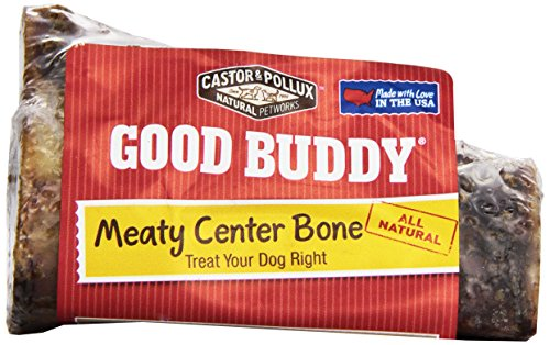 Castor & Pollux Meaty Center Dog Bone, 4 Inches, 1 ct ()