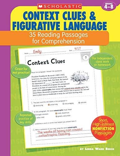 (Context Clues & Figurative Language: 35 Reading Passages for Comprehension)