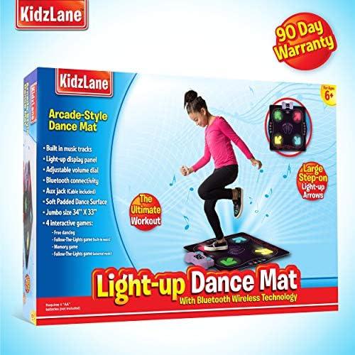 Amazon.com: Alfombra de baile iluminada - Juegos de baile ...