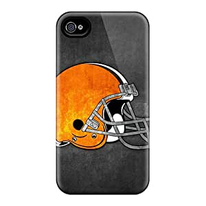 Iphone 4/4s Cover Case - Eco-friendly Packaging(cleveland Browns 12)