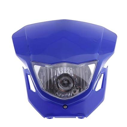 Luz de Delantero LED para Moto/Faro de Proyector para Motocicleta ...